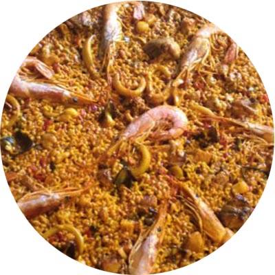 9. Paella mixta